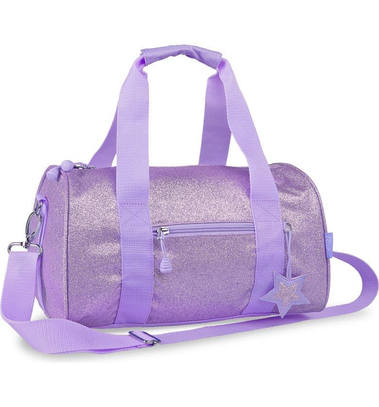 BIXBEE Sparkalicious Dance & Sports Duffel Bag, Main, color, PURPLE