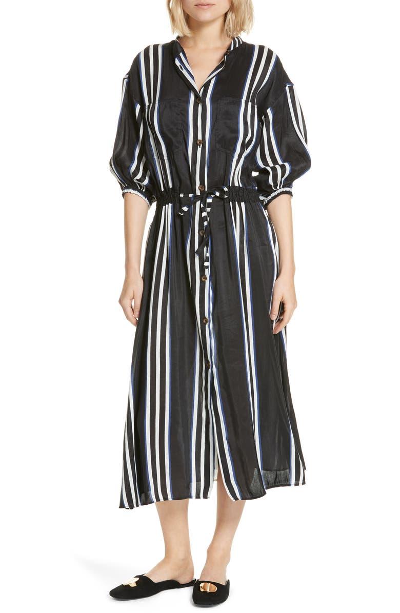 APIECE APART Shirtdress, Main, color, 001