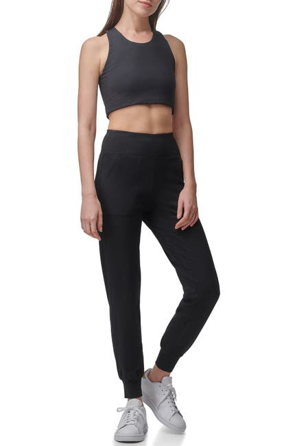 Image of MARC NEW YORK PERFORMANCE High-Waisted Hybrid Joggers