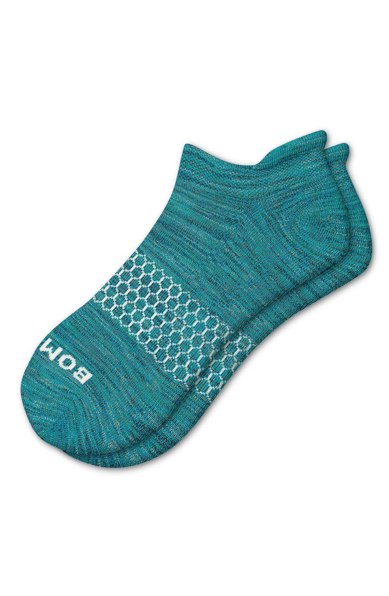 Space Dye Marled No-Show Socks
