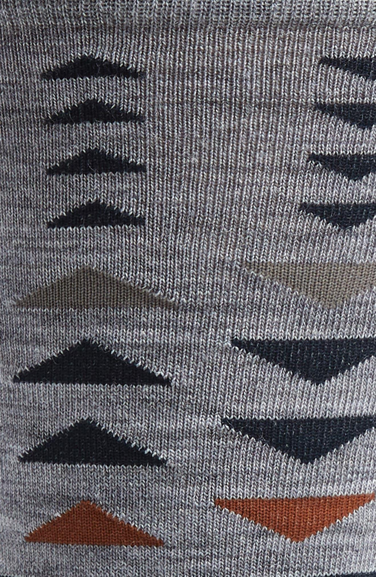 ,                             Burgee Geometric Socks,                             Alternate thumbnail 2, color,                             LIGHT GREY