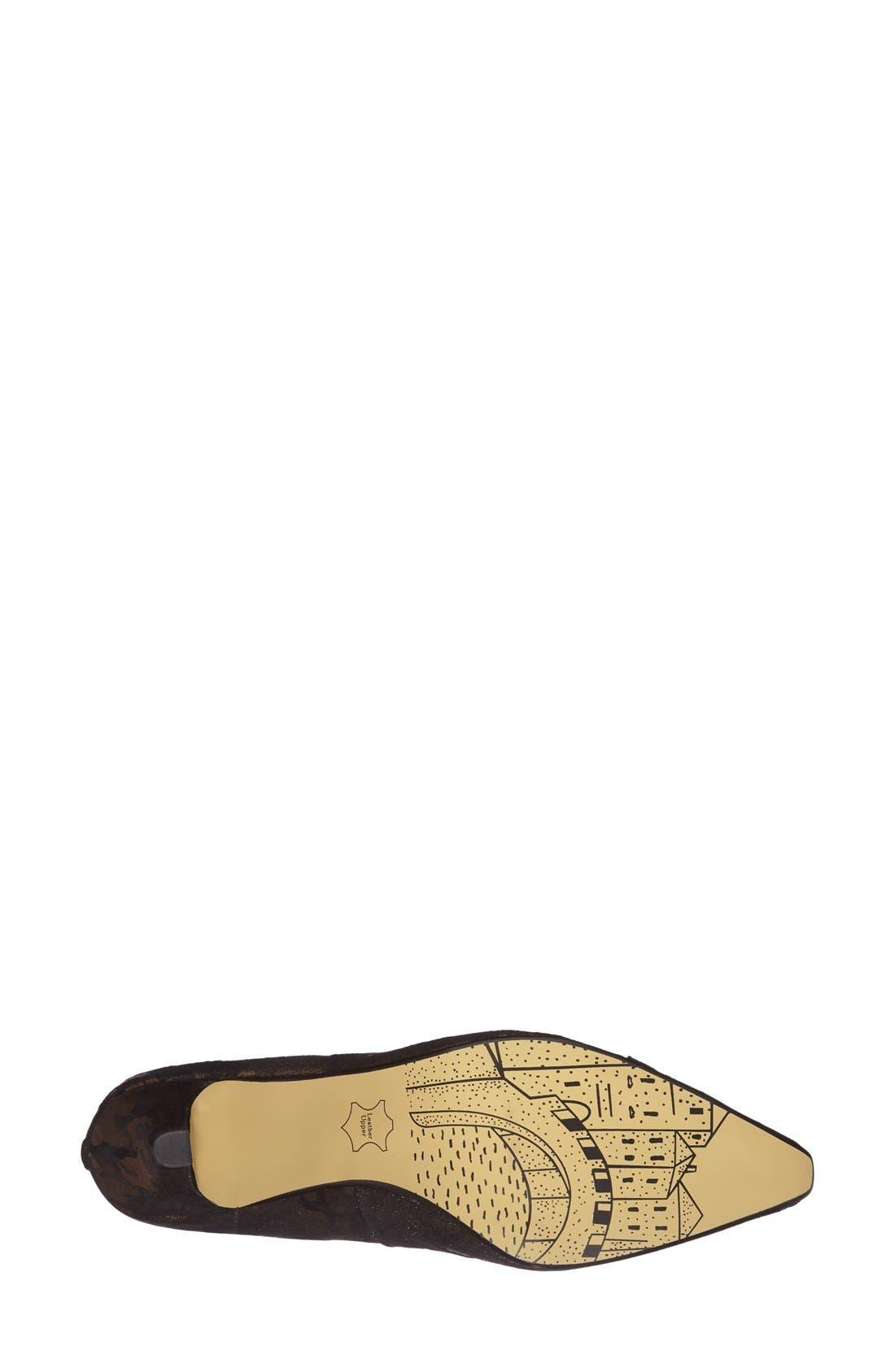 ,                             'Wow' Kitten Heel Pump,                             Alternate thumbnail 14, color,                             003