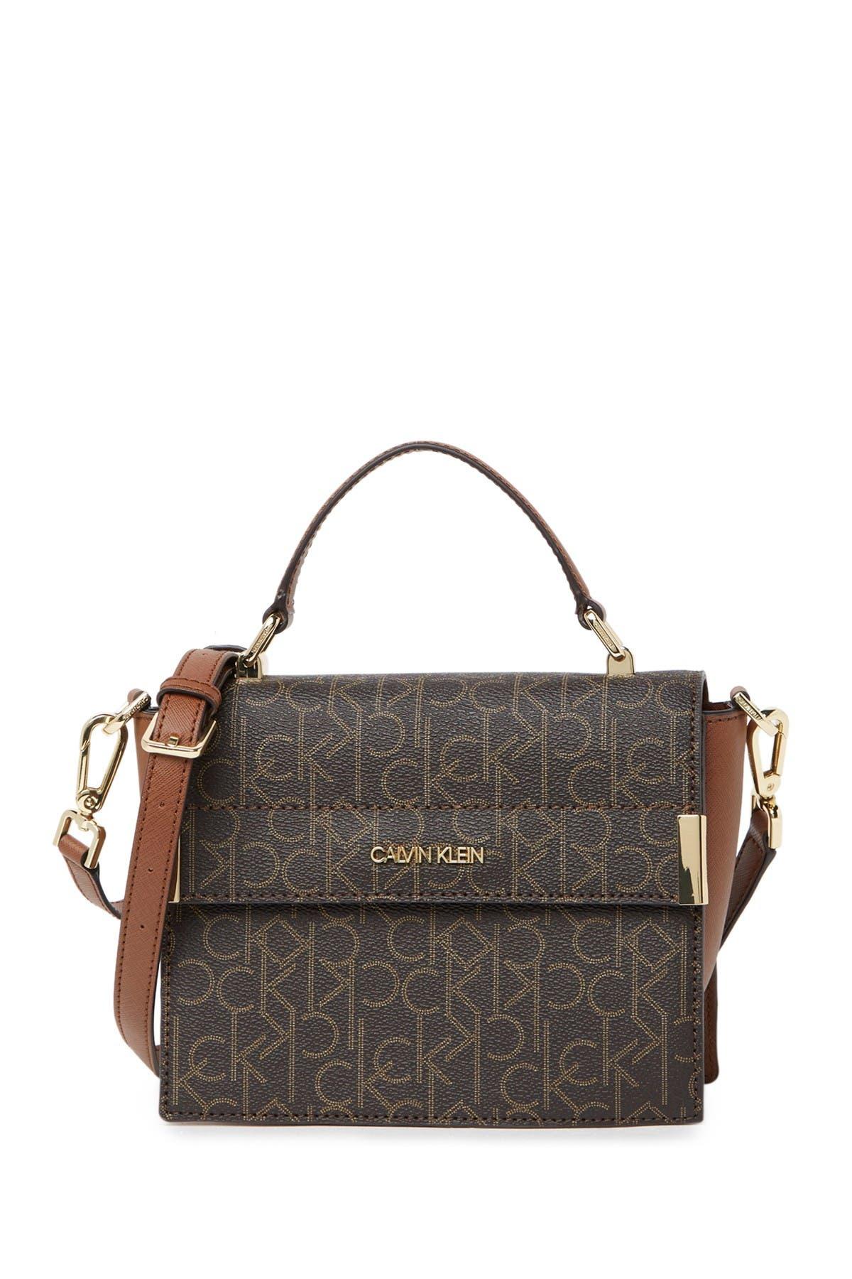 Image of Calvin Klein Signature Logo Crossbody Bag