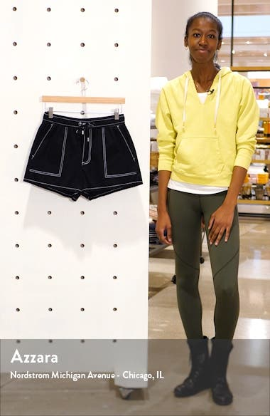 Contrast Stitch Pull On Shorts, sales video thumbnail