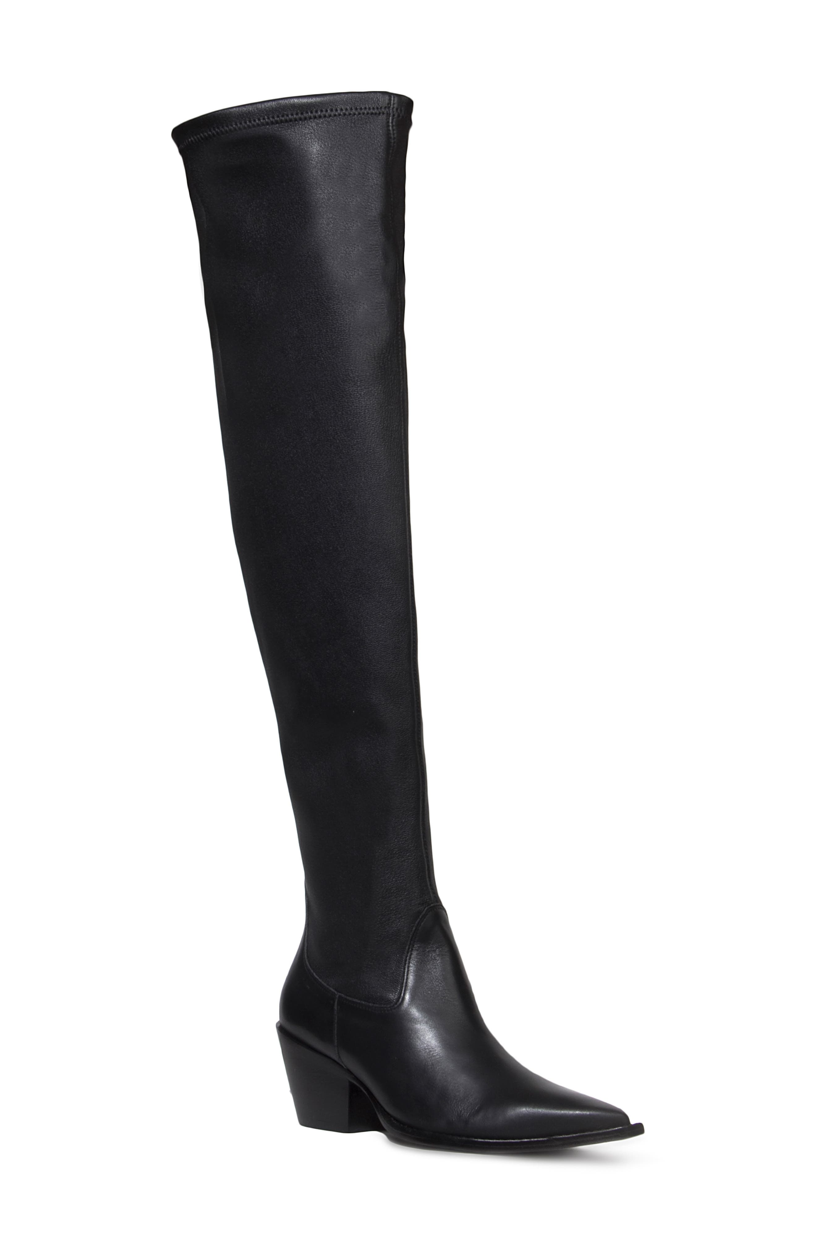 Kennedy Over The Knee Western Boot