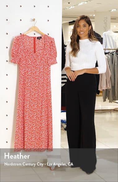 Millie Floral Print Dress, sales video thumbnail