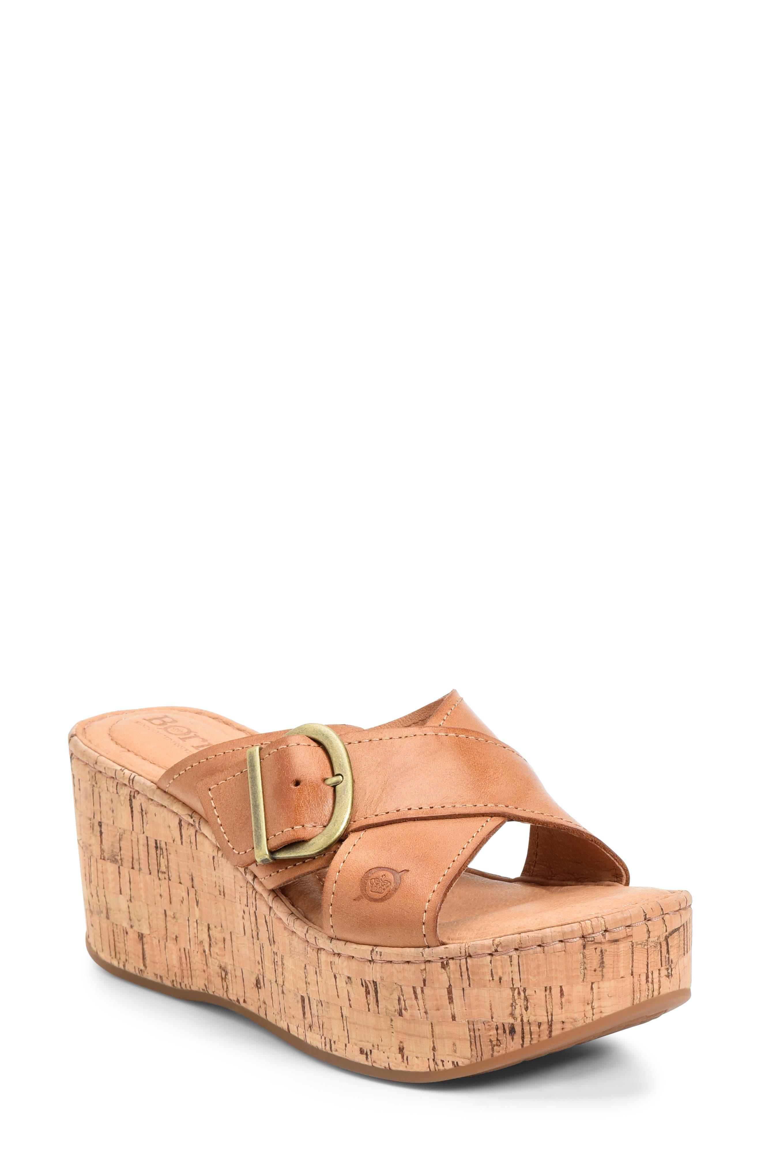 Women's B?rn Devona Platform Wedge Sandal