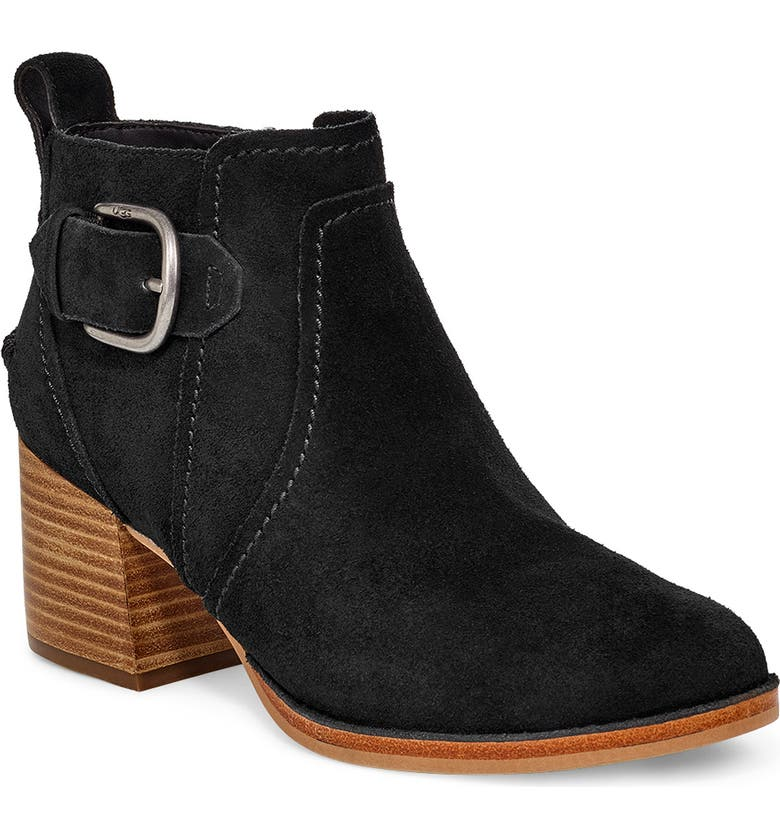 UGG<SUP>®</SUP> Leahy Boot, Main, color, 001