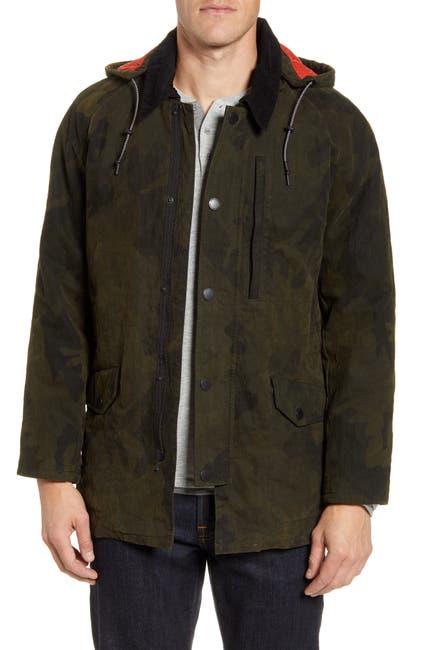 Image of RODD AND GUNN Earnslaw Resin Camo Jacket