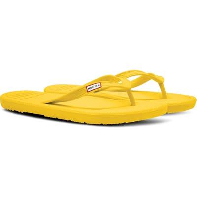 Hunter Original Flip Flop, Yellow