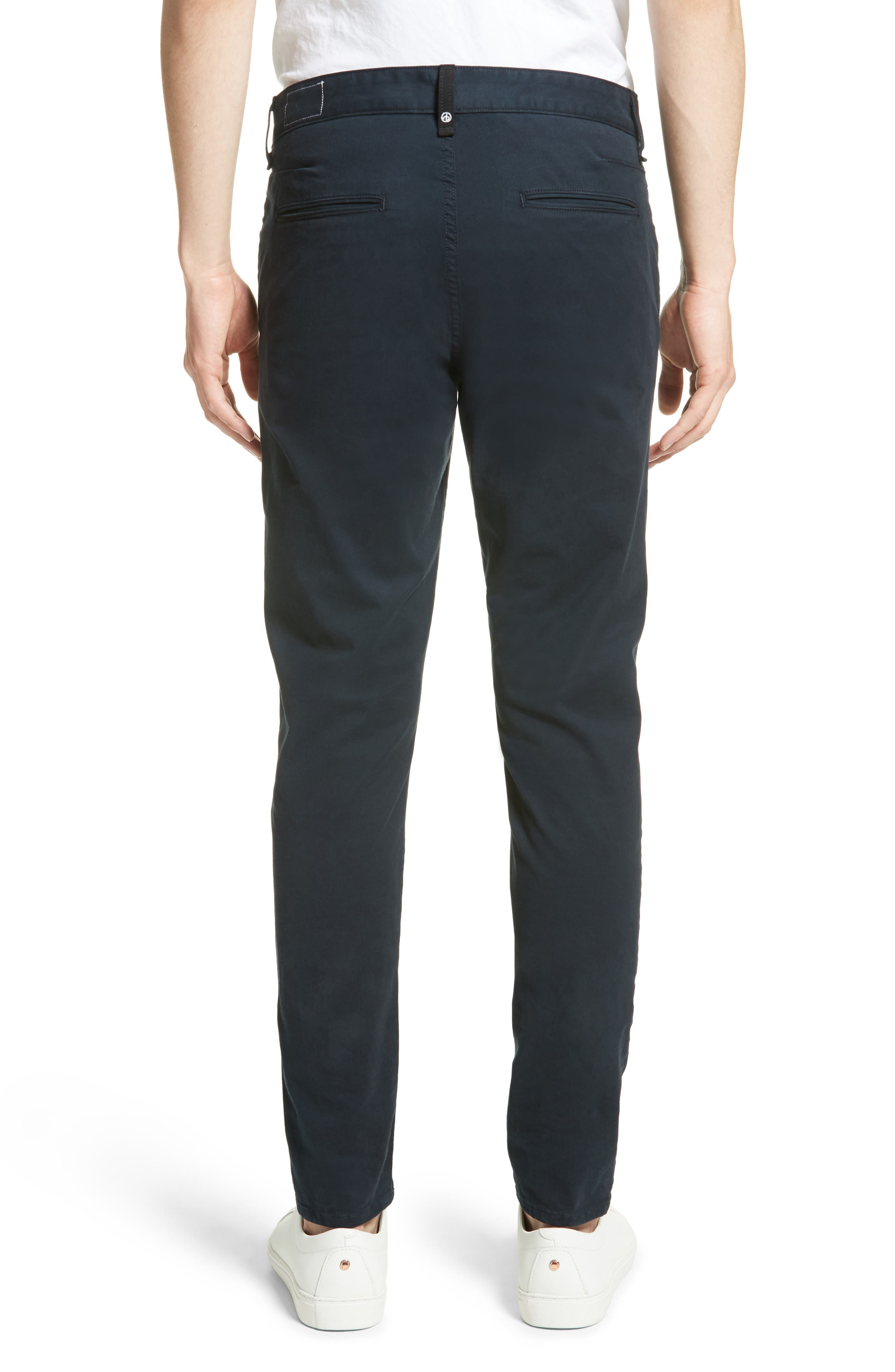 ,                             Fit 2 Slim Fit Chinos,                             Alternate thumbnail 2, color,                             NAVY