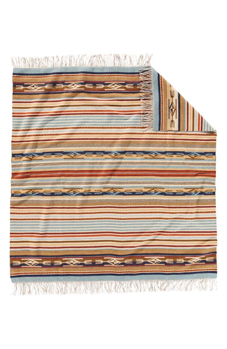 PENDLETON Chimayo Wool Throw Blanket, Main, color, 250