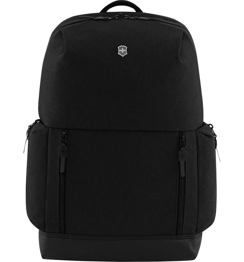 VICTORINOX SWISS ARMY<SUP>®</SUP> Altmont Classic Deluxe Black Backpack, Main, color, BLACK