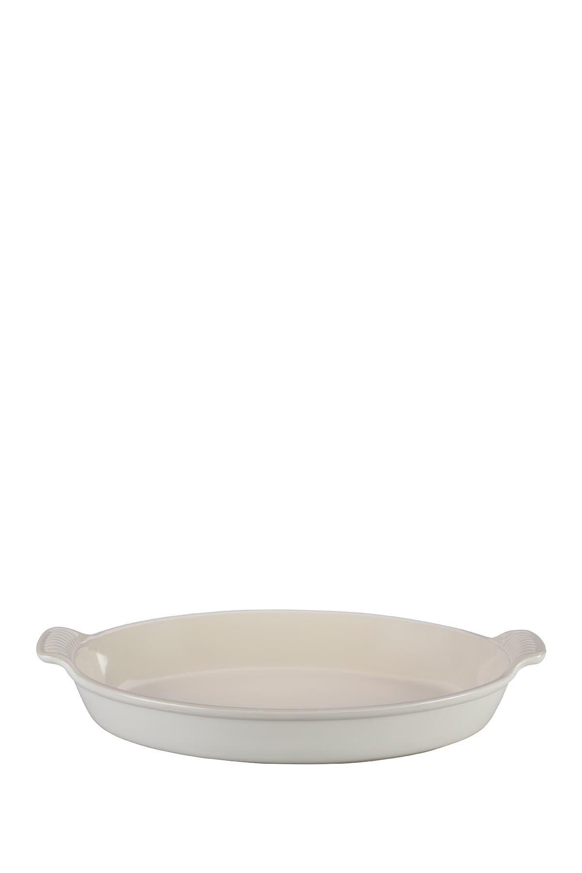 Image of Le Creuset Heritage Oval Au Gratin Dish - 3.1 qt.