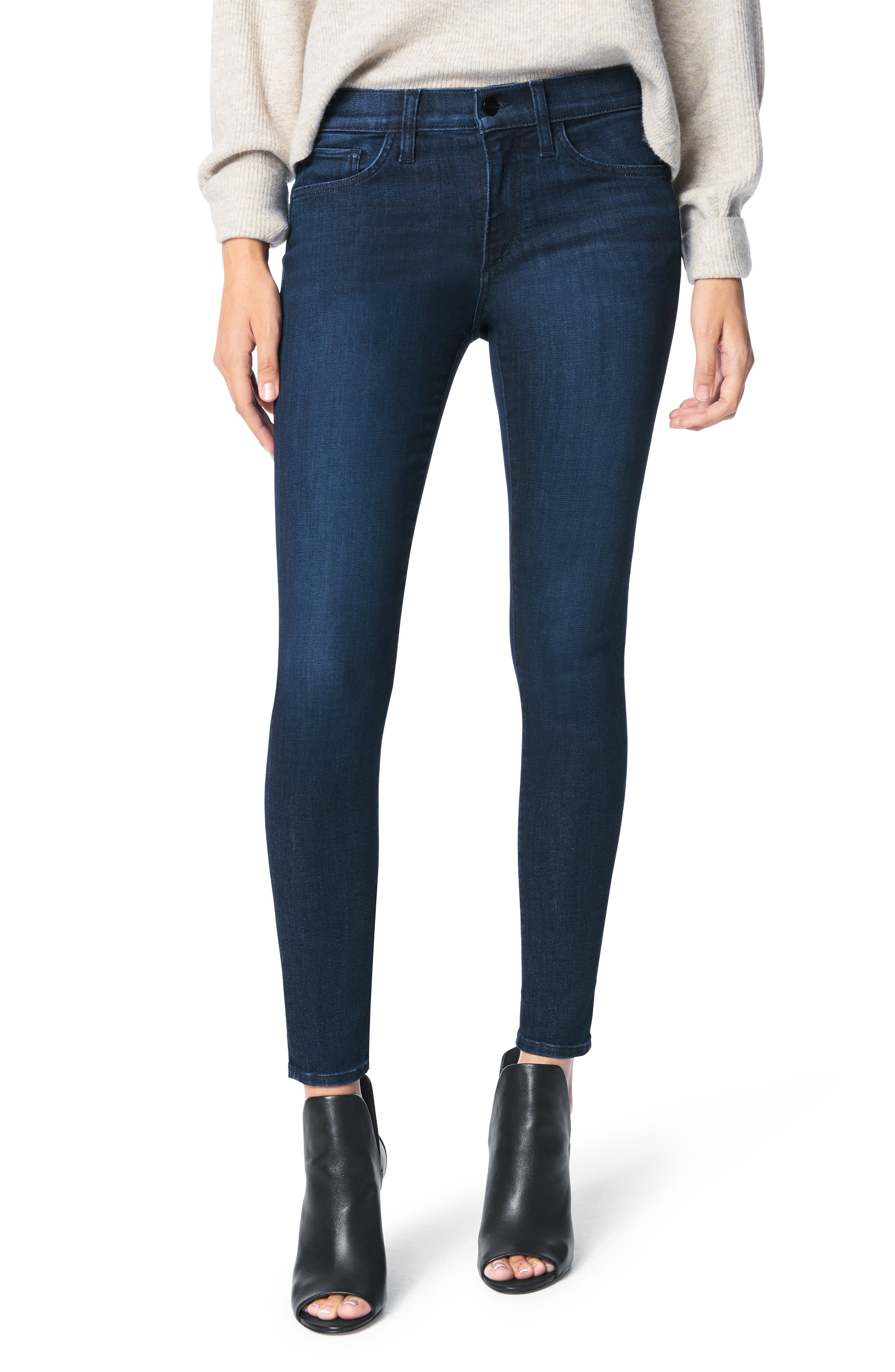 Slight fading and a skinny silhouette will tip these essential jeans into the favorites file for sure. Style Name: Joe\\\'s The Icon Ankle Skinny Jeans (Gemini). Style Number: 6098227. Available in stores.