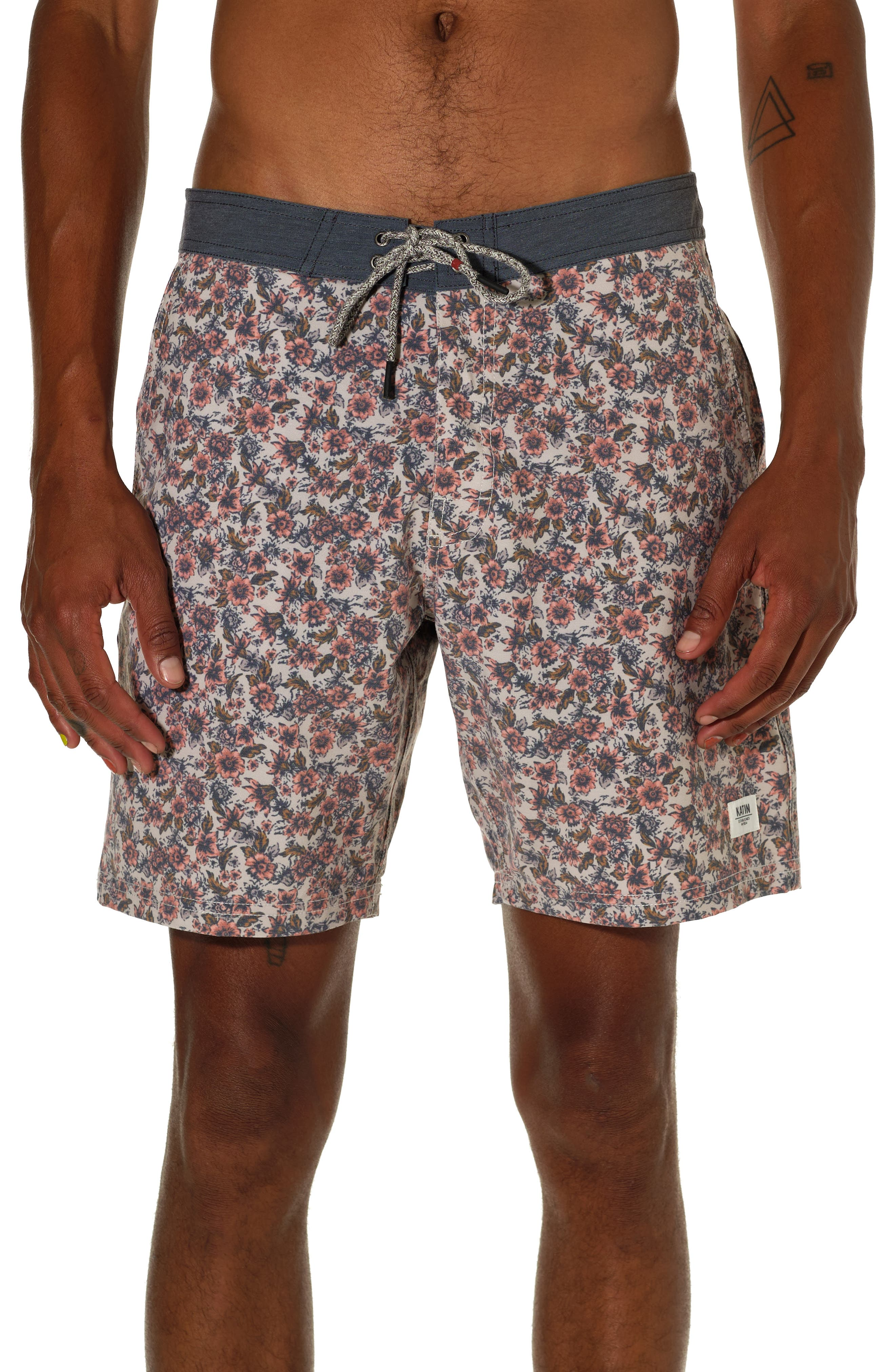 Posey Floral Board Shorts