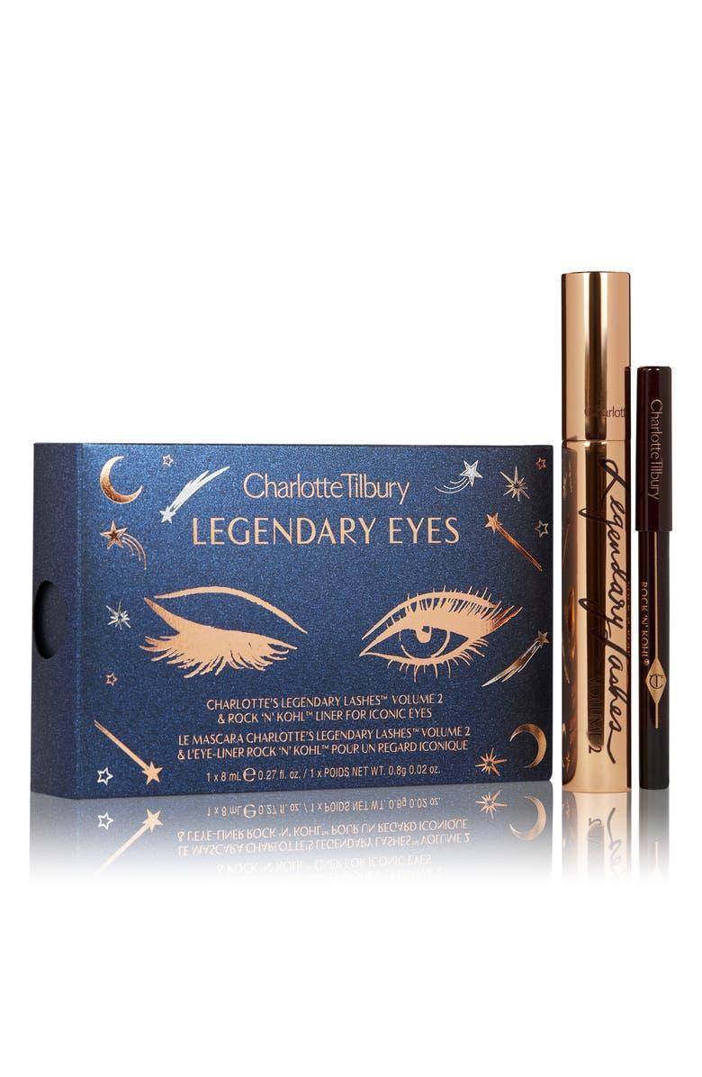 CHARLOTTE TILBURY Legendary Eyes Travel Size Mascara & Eyeliner Set, Main, color, NO COLOR