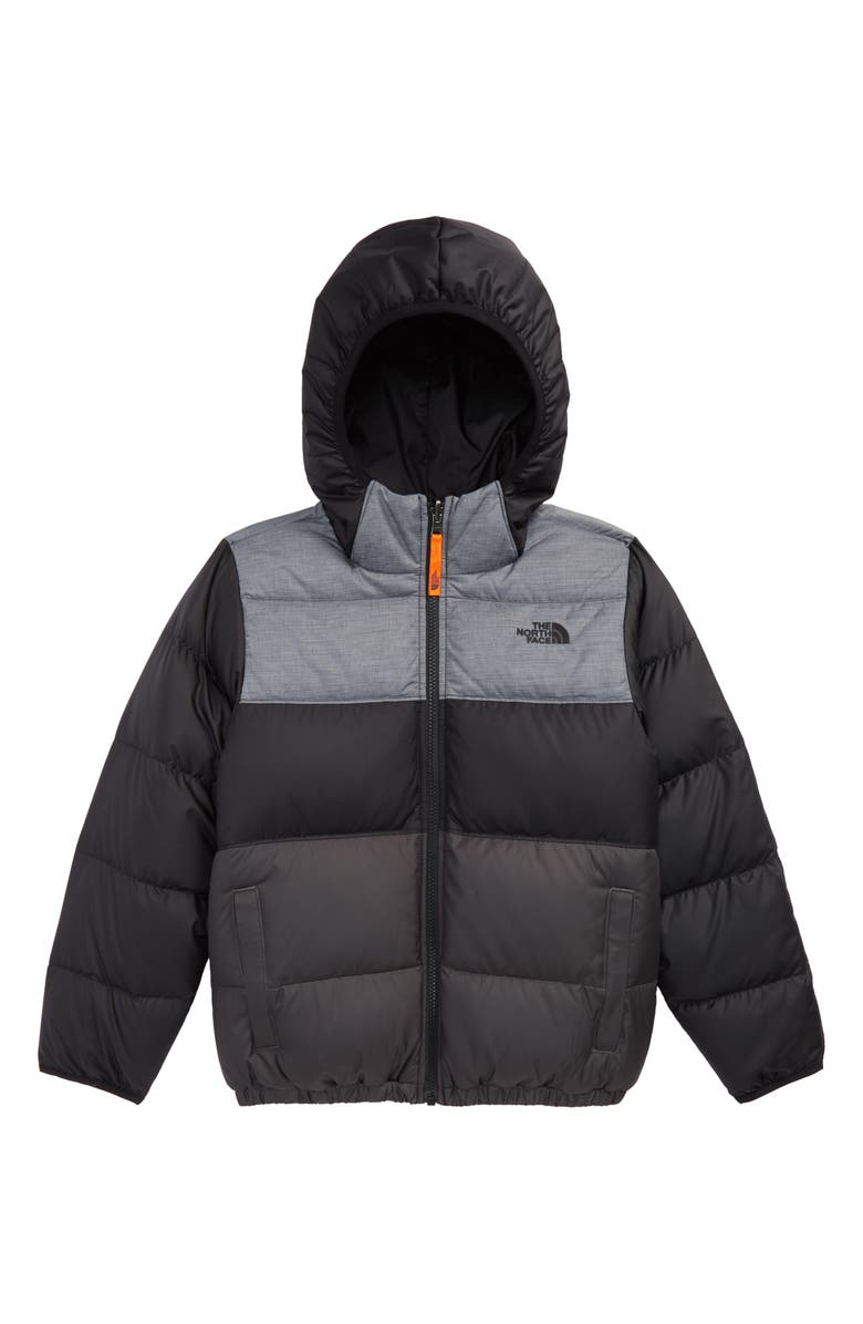 THE NORTH FACE 'Moondoggy' Water Repellent Reversible Down Jacket, Main, color, 003