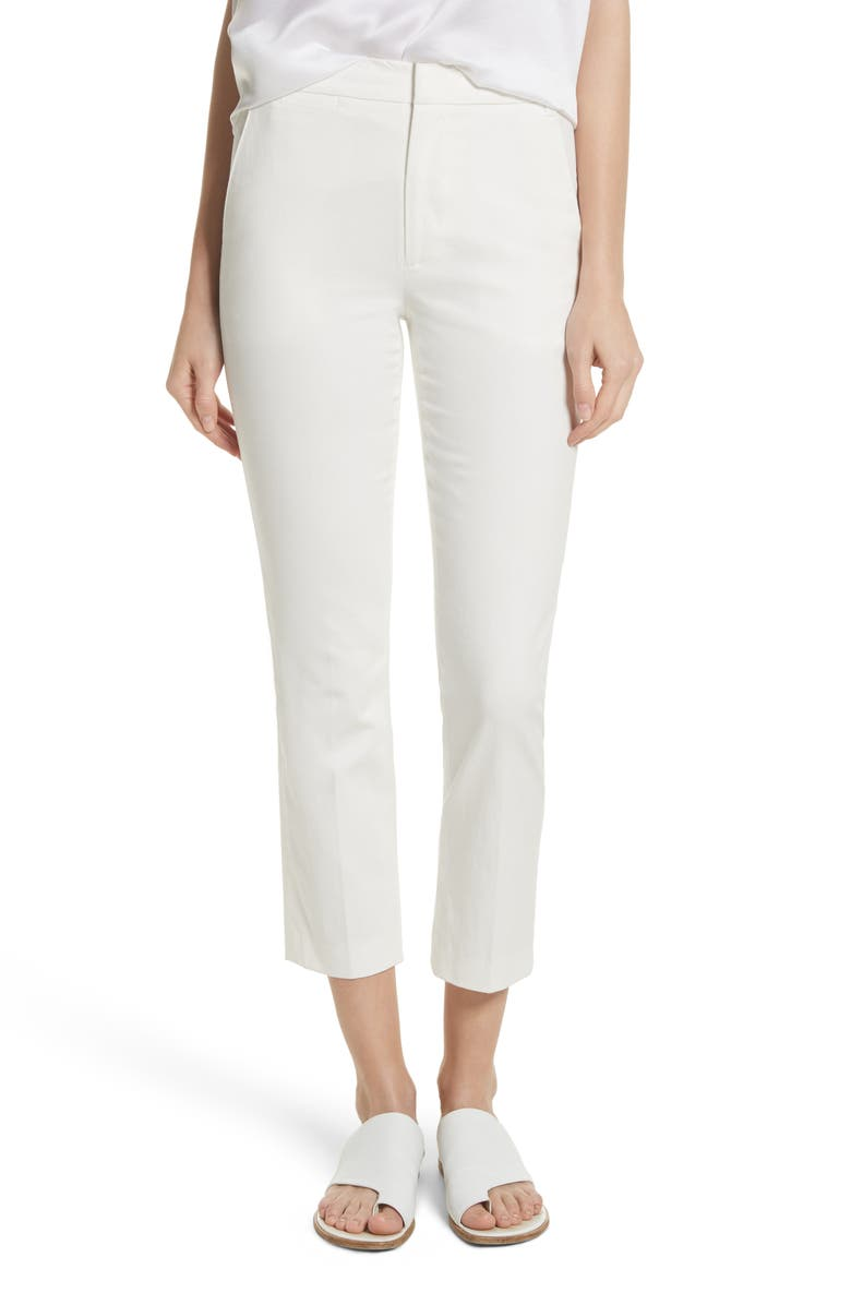 VINCE Coin Pocket Chino Pants, Main, color, OFF WHITE