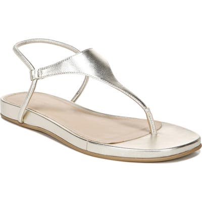 Via Spiga Pixey Wedge Sandal, Metallic