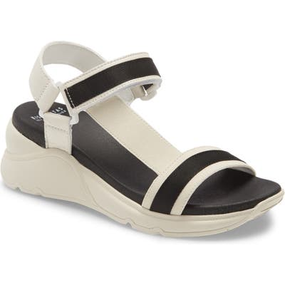 Hispanitas Brenda Platform Wedge Sandal - White