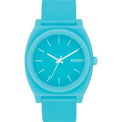 Nixon Time Teller P Polyurethane Strap Watch, 40mm