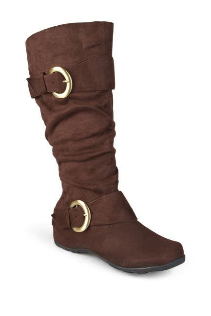 Image of JOURNEE Collection Jester Side Buckle Tall Boot - Wide Calf