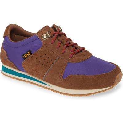 Teva Highside 84 Low Top Sneaker- Brown
