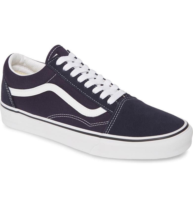 VANS Old Skool Sneaker, Main, color, NIGHT SKY/ TRUE WHITE