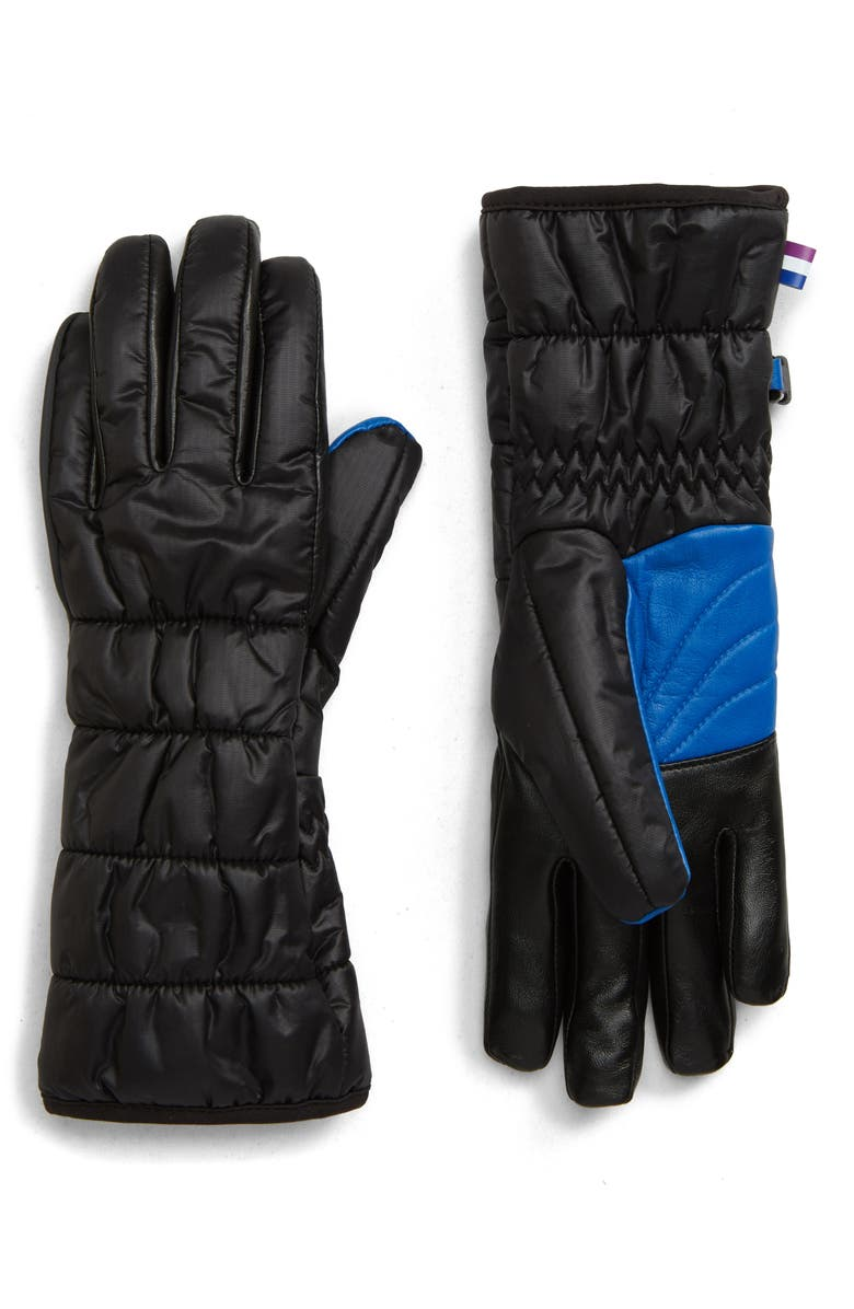 U|R All Weather Performance Gloves, Main, color, BLACK