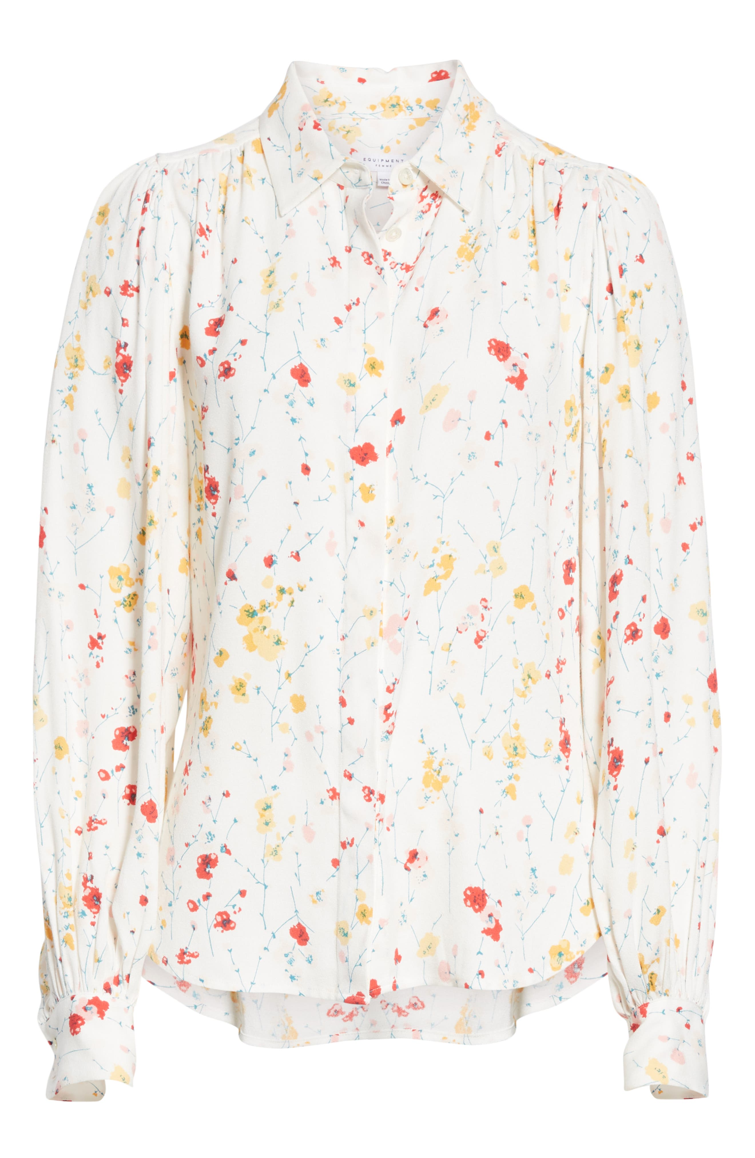 ,                             Marcilly Blouse,                             Alternate thumbnail 6, color,                             100