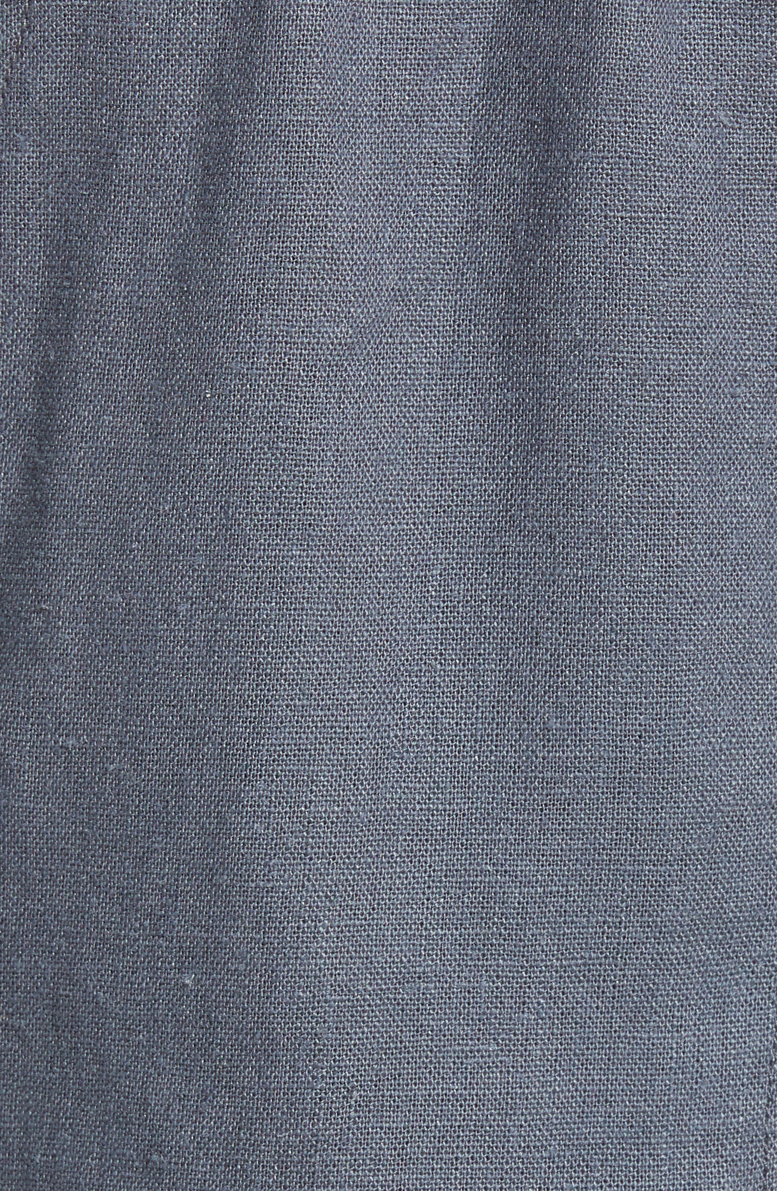 ,                             'Oceanside' Linen Blend Shorts,                             Alternate thumbnail 5, color,                             020