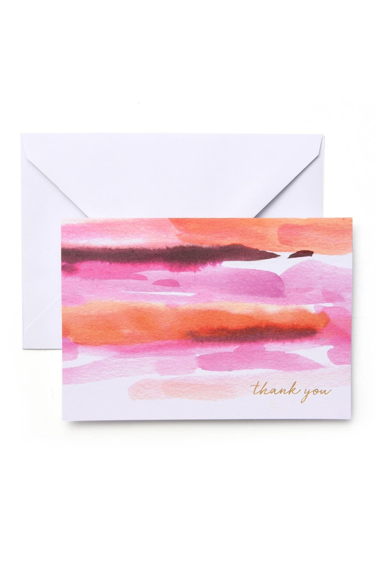 Image of GARTNER STUDIOS Watercolor Thank You Cards - 96-Count