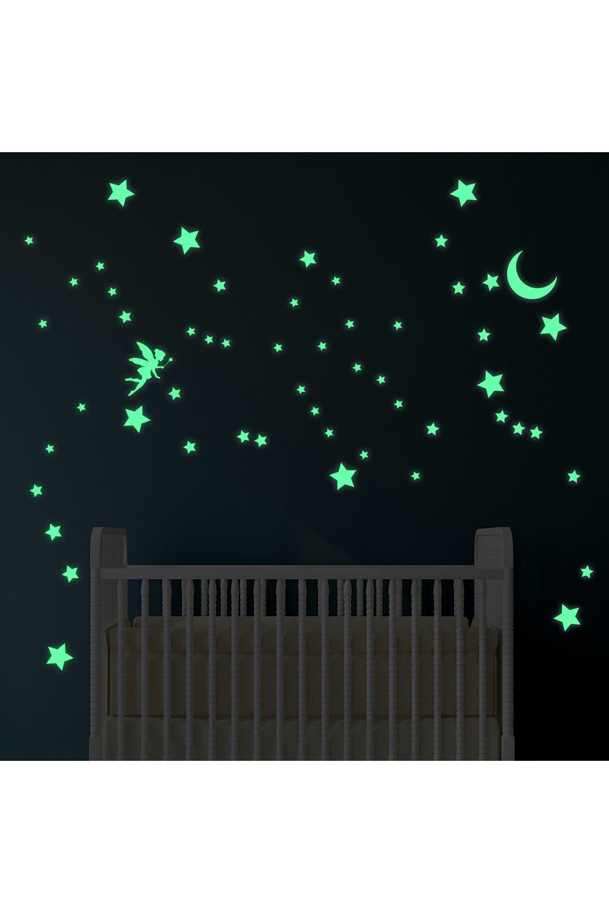 Image of WalPlus Glow in Dark Magic Night Wall Sticker Art