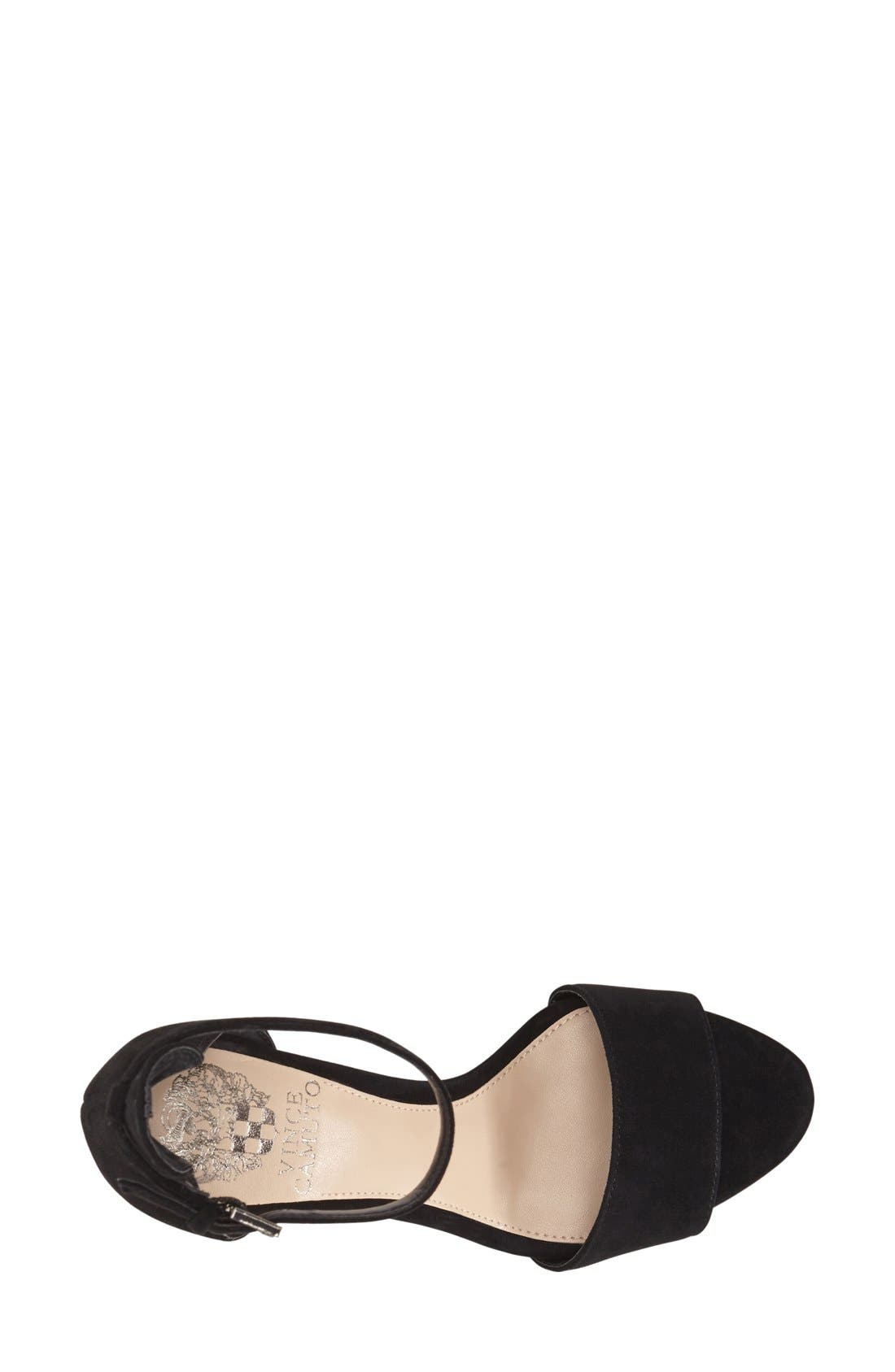 ,                             'Court' Ankle Strap Sandal,                             Alternate thumbnail 18, color,                             004