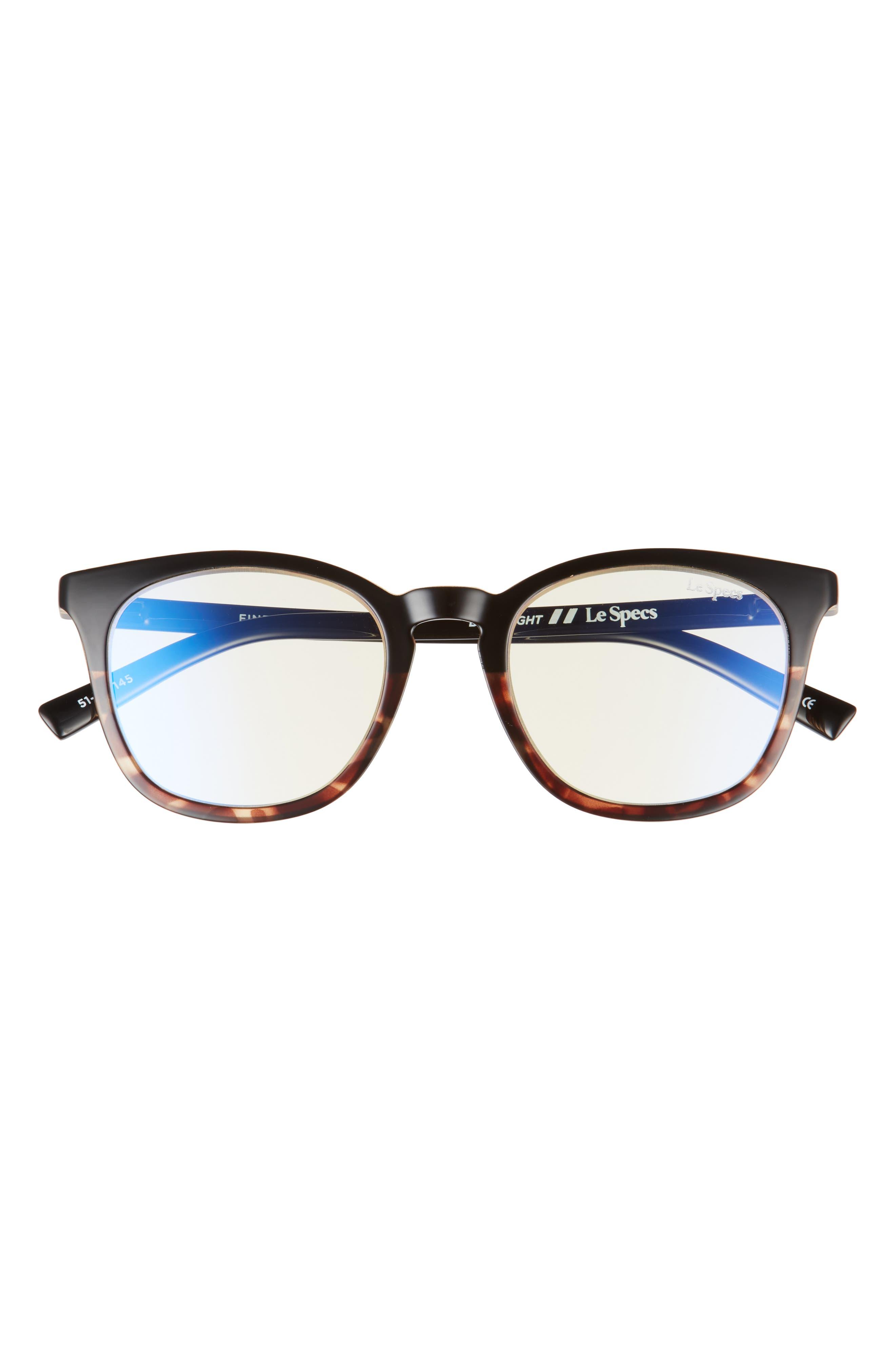 Fine Specimen 47mm Small Blue Light Blocking Glasses