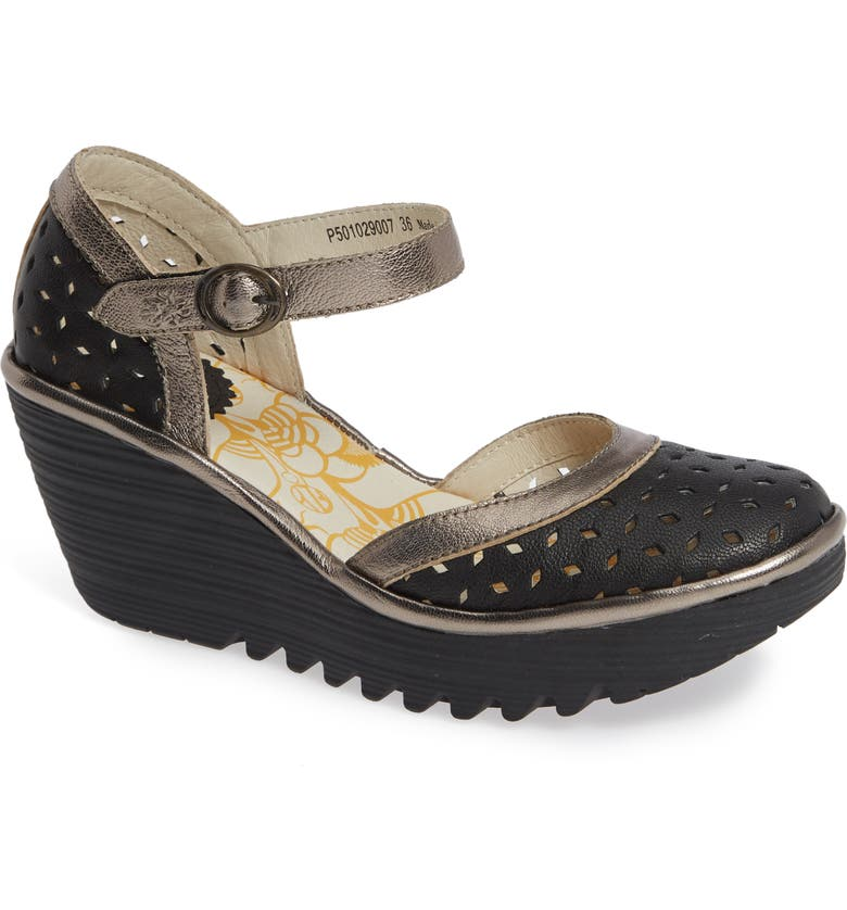 FLY LONDON Yven Wedge, Main, color, 002