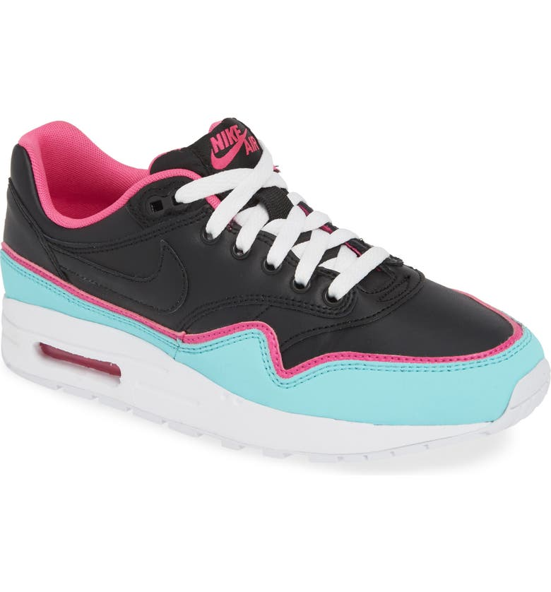 NIKE Air Max 1 DBL Sneaker, Main, color, 001