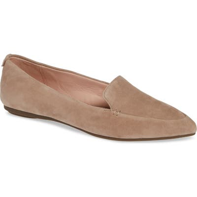 Taryn Rose Faye Pointy Toe Loafer- Brown