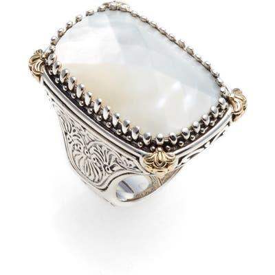 Konstantino Selene Mother-Of-Pearl Ring
