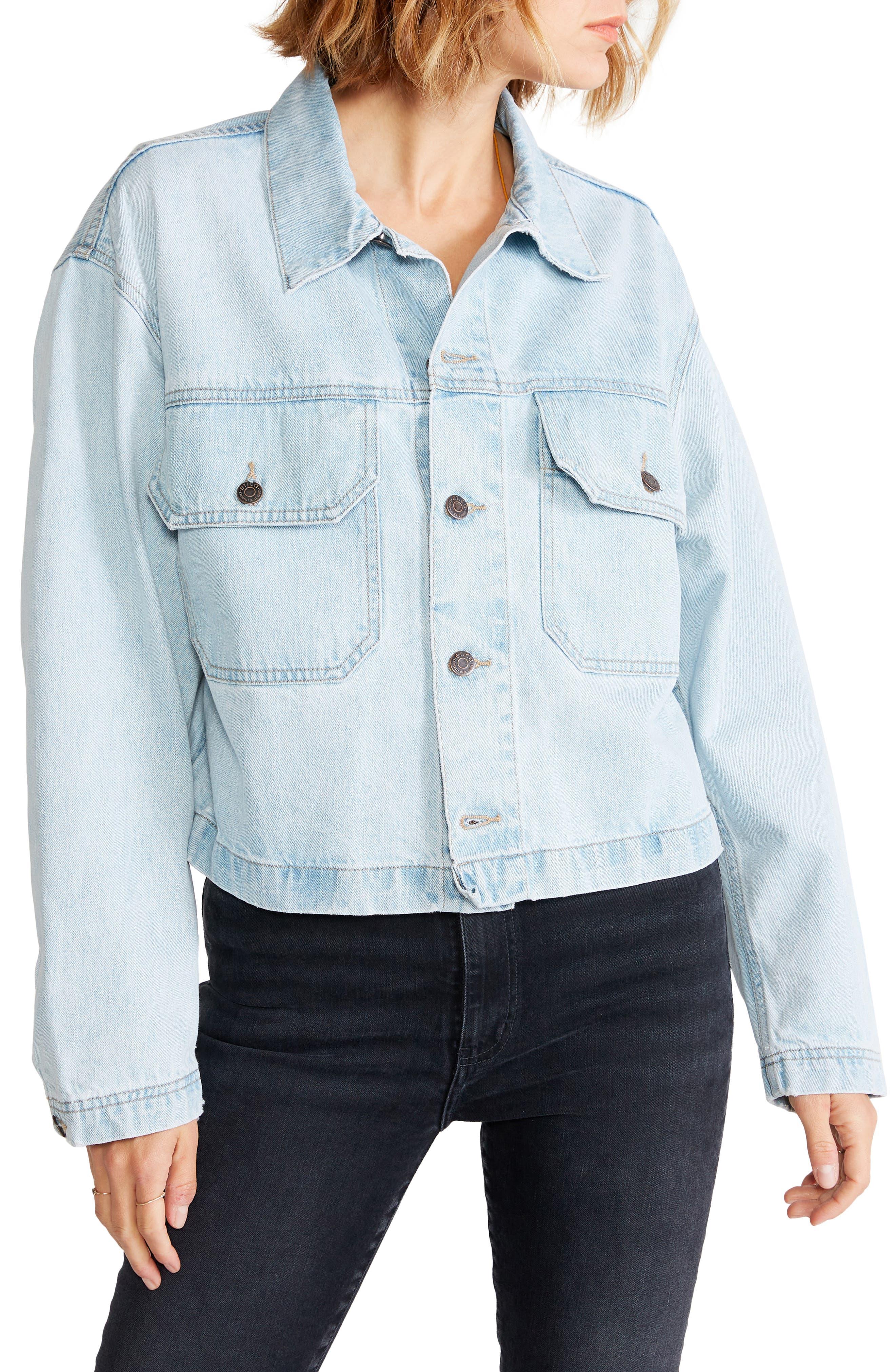 Women's Etica Rive Denim Workwear Jacket