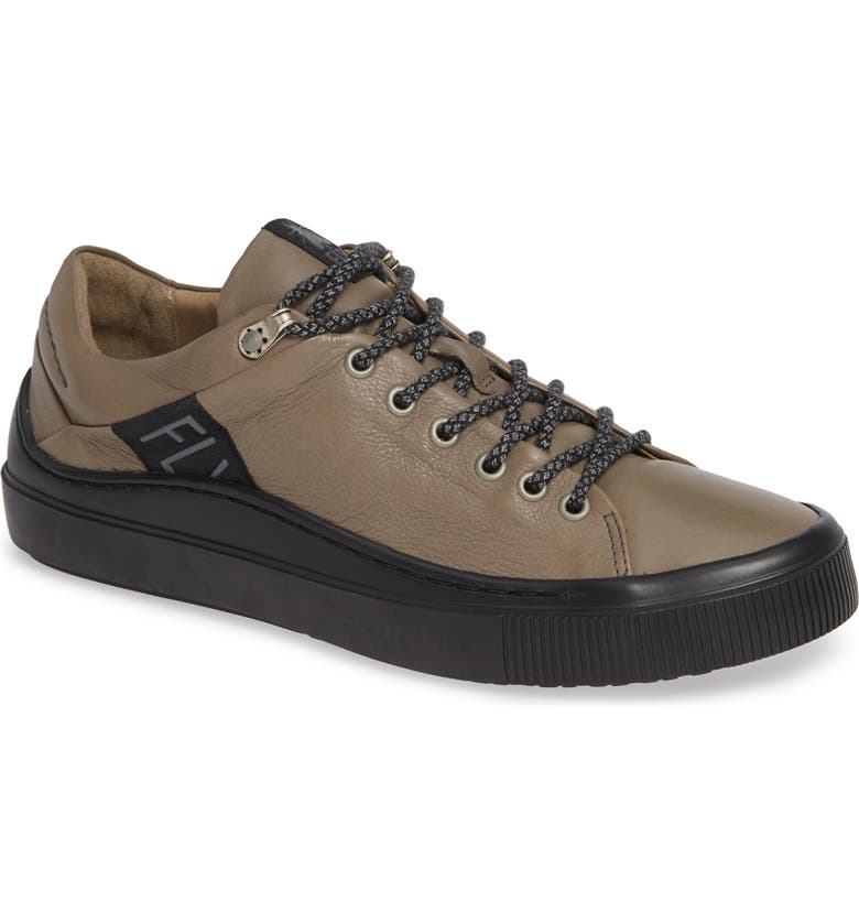 FLY LONDON Some Lace-Up Sneaker, Main, color, GREY/ BLACK BRITO