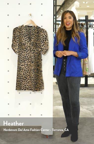 Kota Leppo Print Dress, sales video thumbnail
