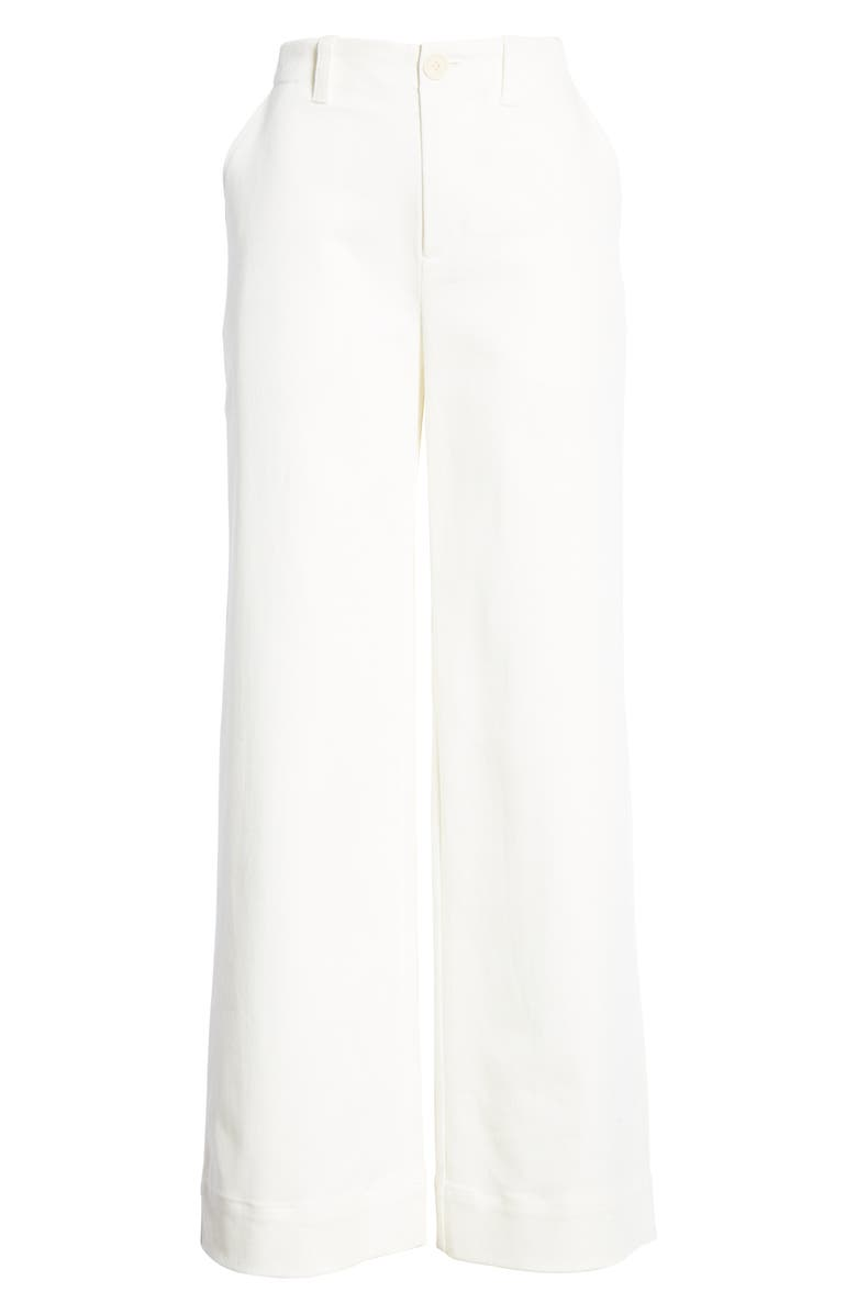 ENTIREWORLD Type A Version 2 Wide Leg Trousers, Main, color, WHITE