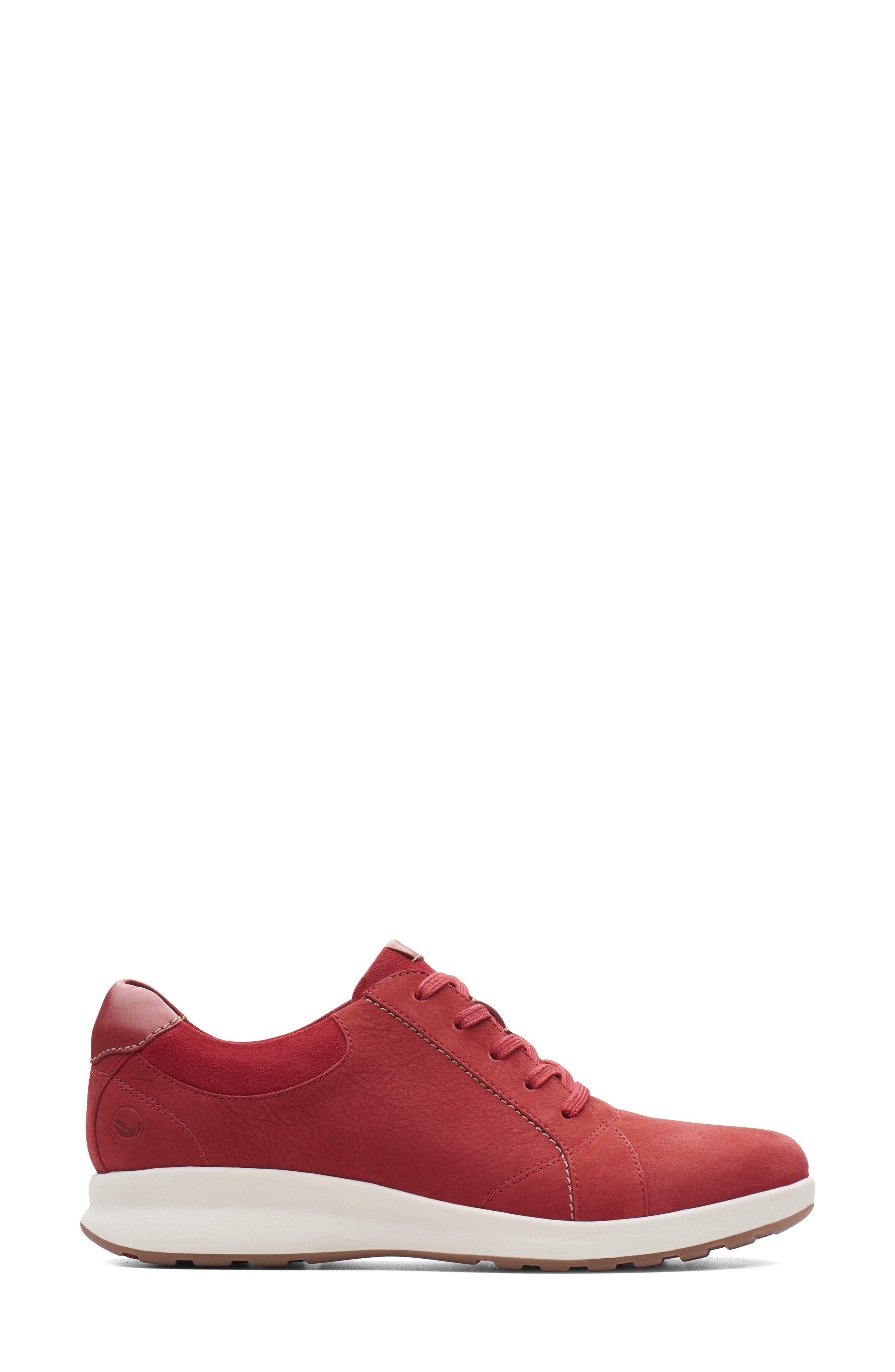 Clarks   Un Adorn Lace-Up Sneaker