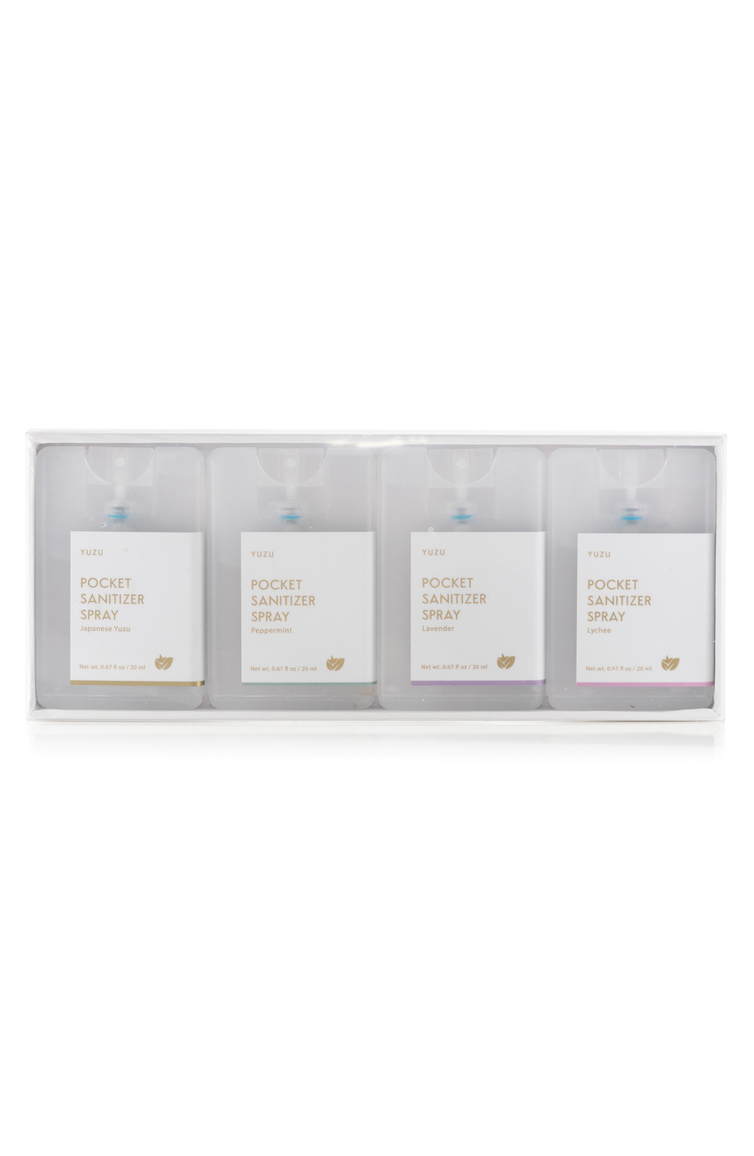 Set of 4 Pocket Sanitizers | Nordstrom
