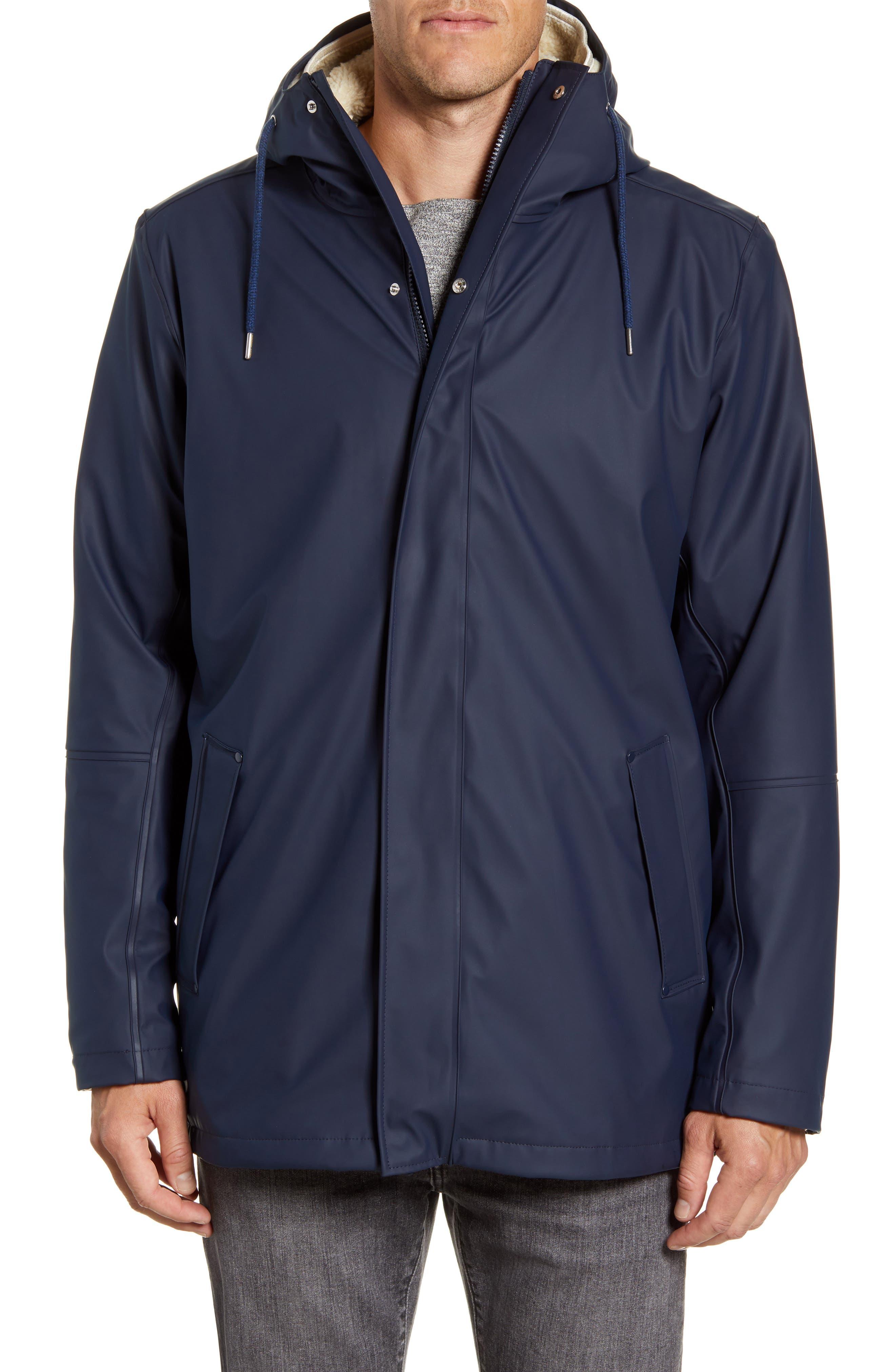 Helly Hansen Mens Moss Insulated 3-in-1 Fleece Inner Waterproof Rain Coat