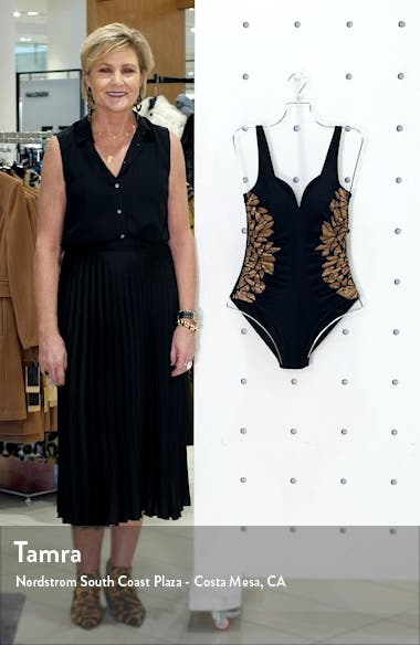 Gilted As Charged Temptress One-Piece Swimsuit, sales video thumbnail