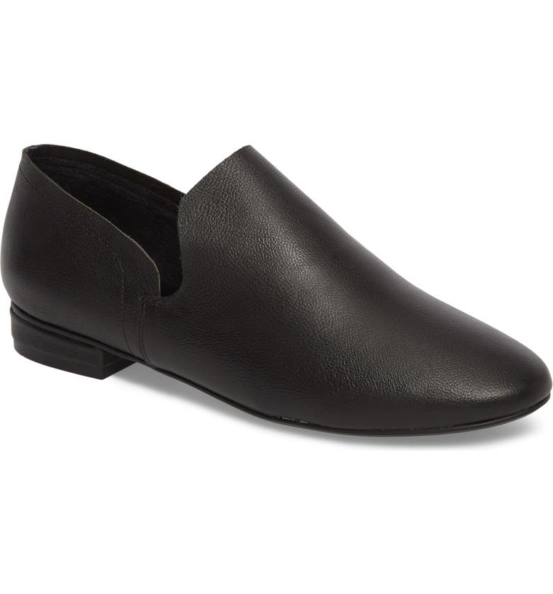KELSI DAGGER BROOKLYN Clara Flat, Main, color, BLACK LEATHER