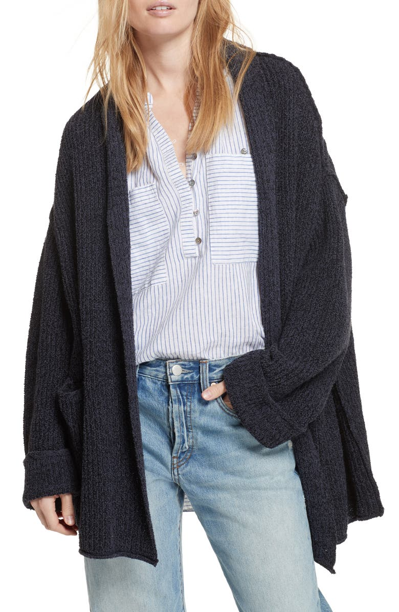 FREE PEOPLE Low Tide Cardigan, Main, color, 020